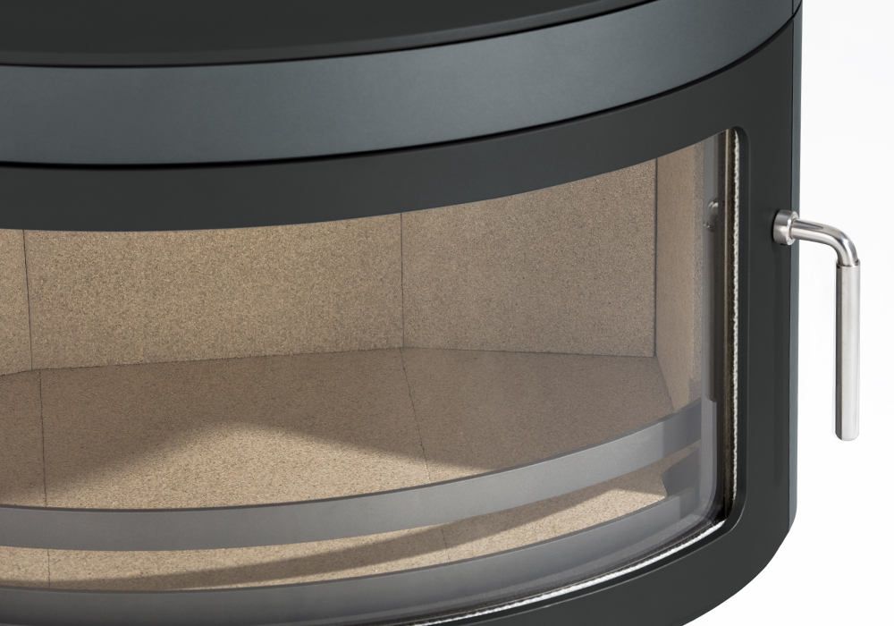 Our specially constructed Panoramic curved glass – quality and reliability!
