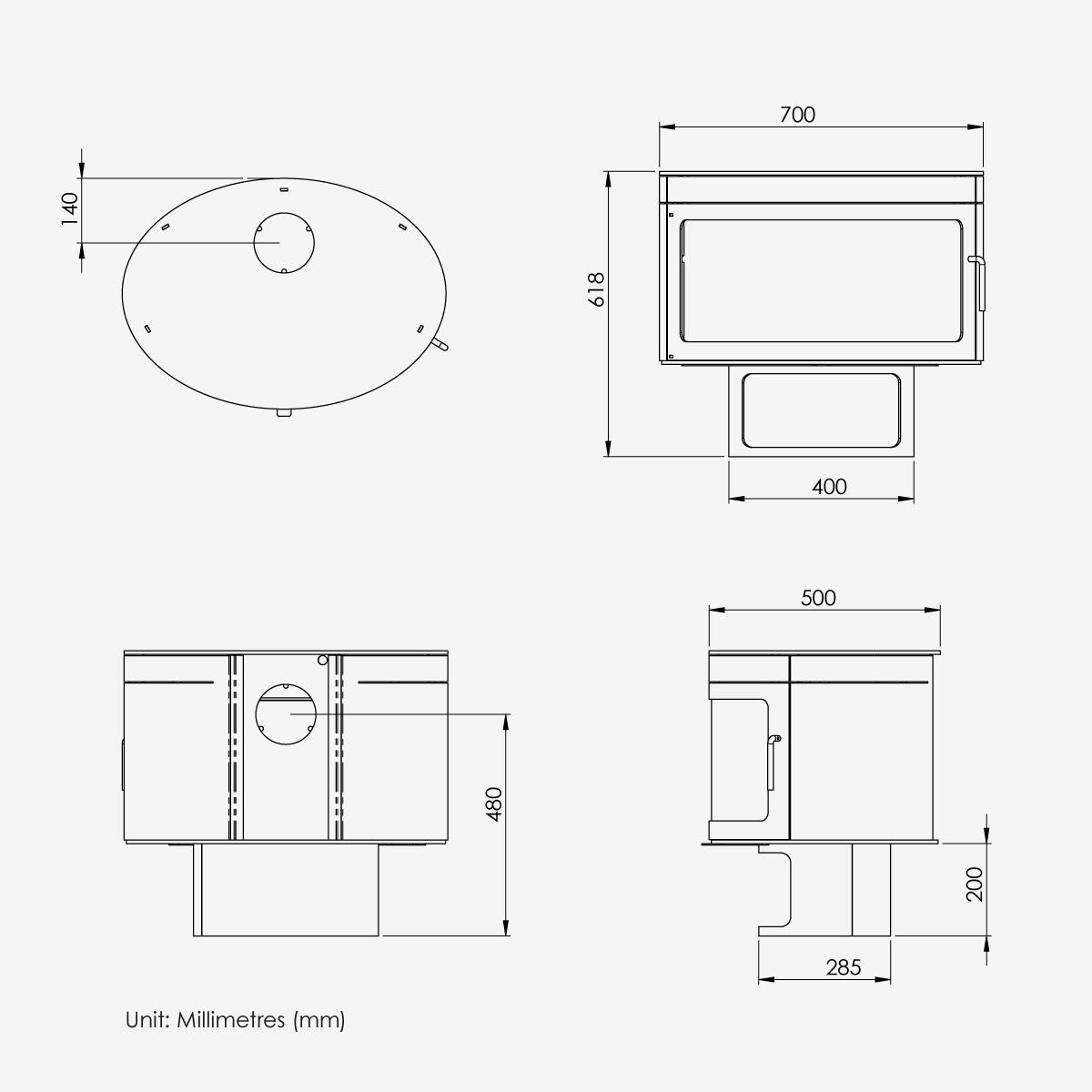 FX1-Dimensions