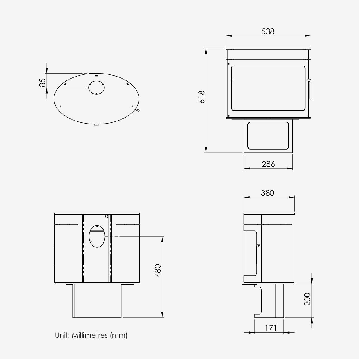 FX2-Dimensions